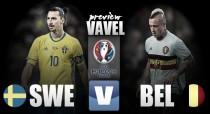 Sweden vs Belgium Preview: Can Zlatan inspire Sweden to a victory over Belgium?