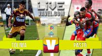 Tolima vs Pasto en vivo y en directo online en la Liga Águila 2015-I (0-0)