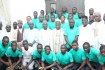 Golden Eaglets arrive Niamey, set for Menas' test