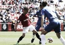 Sergio Tejera, el mejor ante la UD Almería