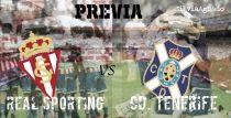 Real Sporting - CD Tenerife: un partido a todo o nada