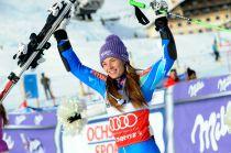 Sci alpino: Tina Maze trionfa nello slalom speciale di Levi, seconda tappa di Coppa del Mondo