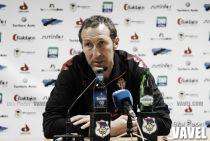 """Tomás Hervás: """"El empate es justo, era un partido muy difícil, me voy contento"""""""