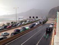 La lluvia hace estragos en Gran Canaria