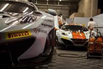 24h de spa: pas de bol pour Verdonck et Gulf Racing !