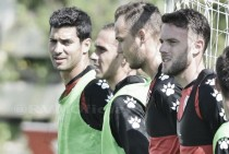 El Rayo prepara el partido ante el Huesca