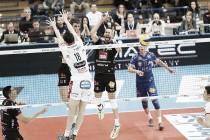 Volley M - La Lube Civitanova Marche batte la Diatec Trentino e ipoteca la Regular Season