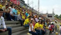 Habilitada la tribuna occidental para el público para presenciar el partido Atlético Huila vs Deportivo Cali