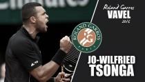 Roland Garros 2016. Jo-Wilfried Tsonga: potencia y físico para romper la maldición