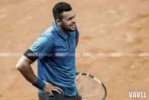 Roland Garros recibe una nueva lesión: Jo-Wilfried Tsonga