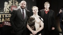Tyler Bate is the first WWE United Kingdom Champion