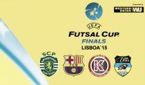 UEFA Futsal Cup: Título decide-se em Lisboa!