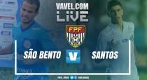 São Bento perde para o Santos no Campeonato Paulista 2017 (0-2)