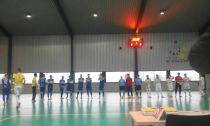 Santiago Futsal arrasa a Prone Lugo en un amistoso benéfico
