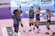 Volley A1 femminile – Conegliano supera le Campionesse d'Italia. Bergamo torna alla vittoria