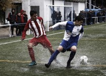 El Atleti B, con la pólvora mojada en Aravaca