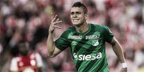 """Santos Borré: """"Para mí sería muy bueno irme al extranjero"""""""