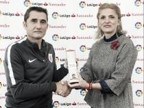 Valverde, mejor entrenador de septiembre para LaLiga