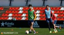 El Valencia, preparado para recibir al Athletic