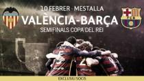 Anunciada la fecha para solicitar entradas para la semifinal de Copa del Rey en Mestalla