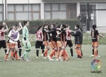 El Valencia Femenino va viento en popa y se clasifica a la Copa de la Reina