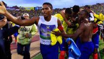 Así festejó la selección ecuatoriana luego de vencer a Uruguay (VIDEO)