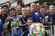 """Brno, Rossi torna sul podio: """"Abbiamo fatto un buon lavoro ed una giusta scelta"""""""