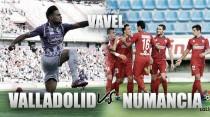 Previa Real Valladolid - CD Numancia: a por el pleno de victorias en casa