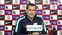 "Valverde: ""Necesitamos un punto para estar matemáticamente en Europa"""
