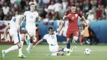 How did Slovakia hold firm against England?