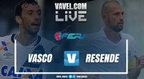 Resultado Vasco x Resende pelo Campeonato Carioca (2-1)