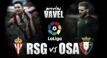 Previa Sporting Gijón - Osasuna: la pelea por la permanencia