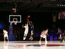 No. 18 ConnecticutHuskies Score Early And Often To Defeat Michigan Wolverines In Bahamas