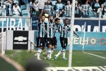 """Douglas elogia atuação do Grêmio em vitória sobre São Paulo: """"Era o que a gente precisava"""""""