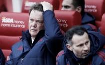 Van Gaal: ''Dos jugadas a balón parado, dos goles''