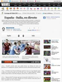 VAVEL estrena hoy versión propia de directos con la final de la Eurocopa