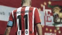 """Verón: """"Si en diciembre llegamos al 65% de palcos vendidos, me anoto para jugar la Copa Libertadores"""""""