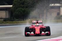 F1, test Pirelli: svetta Vettel
