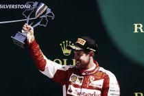 """Sebastian Vettel: """"Sin la lluvia no hubiéramos conseguido estar en el podio"""""""