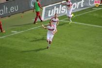 1. FC Kaiserslautern 0-1 VfB Stuttgart: Terodde secures Stuttgart win