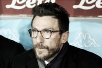 Pressionado no comando do Sassuolo, técnico Di Francesco lamenta temporada difícil