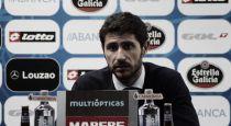 """Víctor Sánchez: """"El equipo ha reaccionado de manera positiva y es con lo que nos tenemos que quedar"""""""