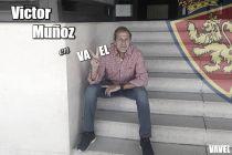 """Entrevista. Víctor Muñoz: """"No me importaría volver a entrenar al Zaragoza"""""""