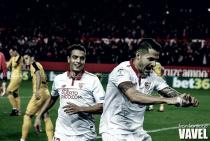 Sevilla FC- Málaga CF; puntuaciones del Sevilla, jornada 16 de Liga
