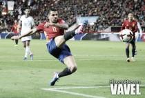 """Vitolo: """"Jugar al lado de Silva es un espectáculo"""""""