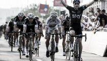 Abu Dhabi Tour, Elia Viviani vince la seconda tappa