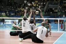 Seleção brasileira masculina de vôlei sentado disputará o bronze