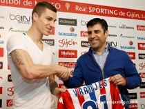 Ognjen Vranjes, segundo refuerzo invernal del Sporting