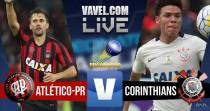 Resultado Atlético-PR x Corinthians no Campeonato Brasileiro 2016 (2-0)
