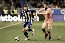 El Las Palmas domina ante un Alavés que sigue sin poder vencer en Mendi